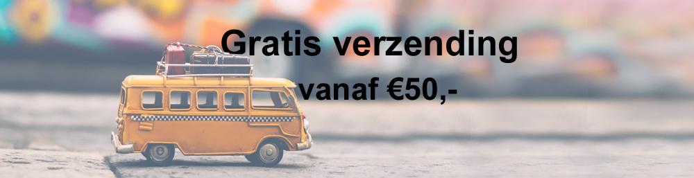 Gratis Verzending vanaf €50,-