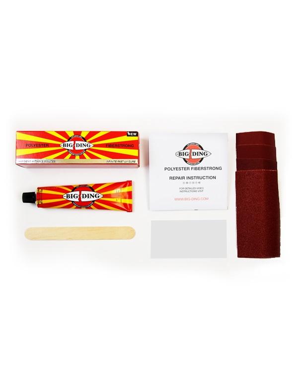 polyester kit voor zelf repareren van surfboard schade