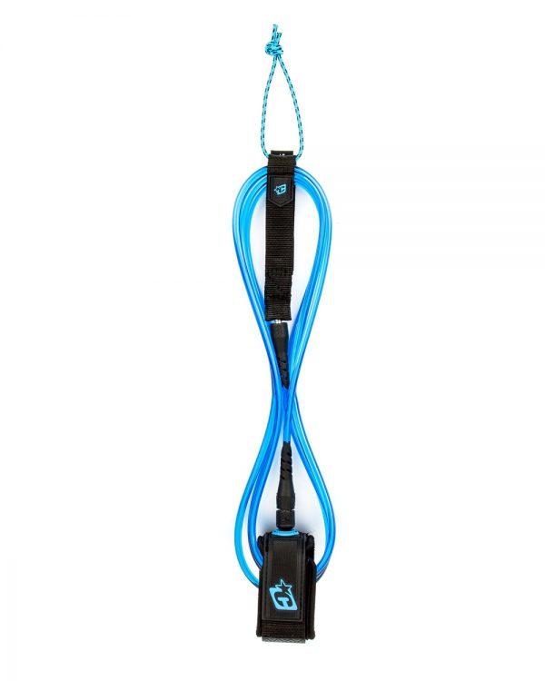 leash voor longboard blauw
