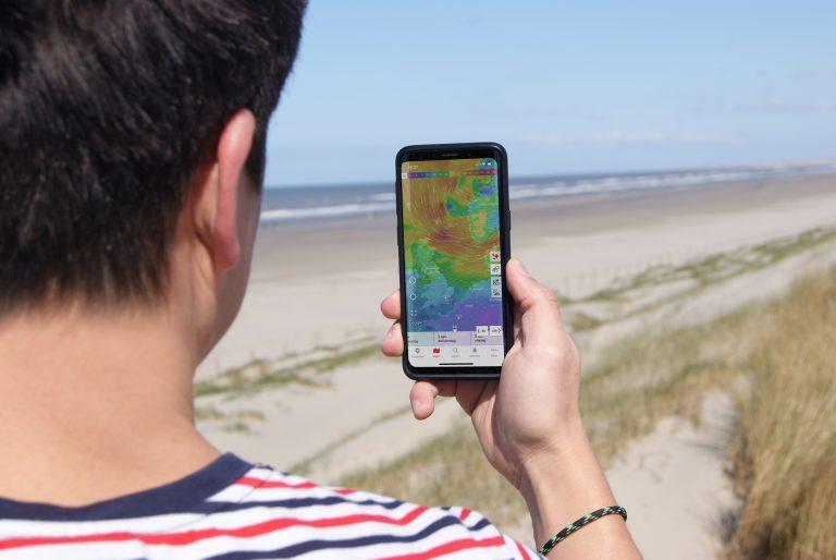 surf voorspelling windkaarten