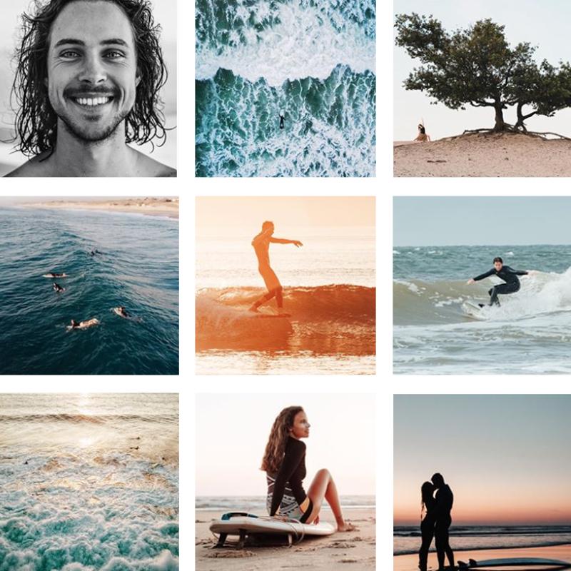 Surf Fotograaf Anthea Den Hollander Hoek van Holland Collage