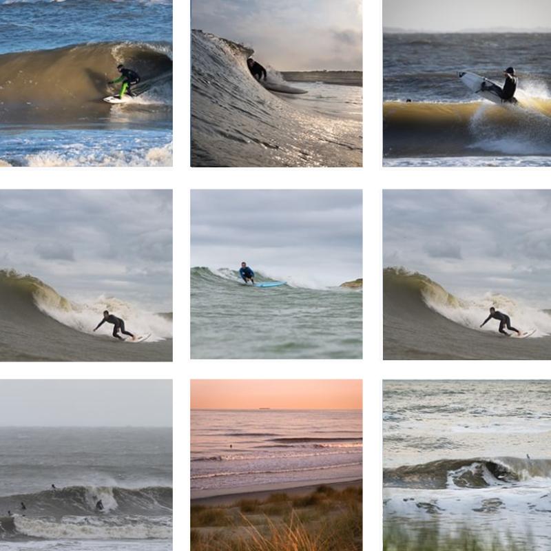Surf Fotograaf Jaco Kleiwegt Hangingshoulder Maasvlakte Collage