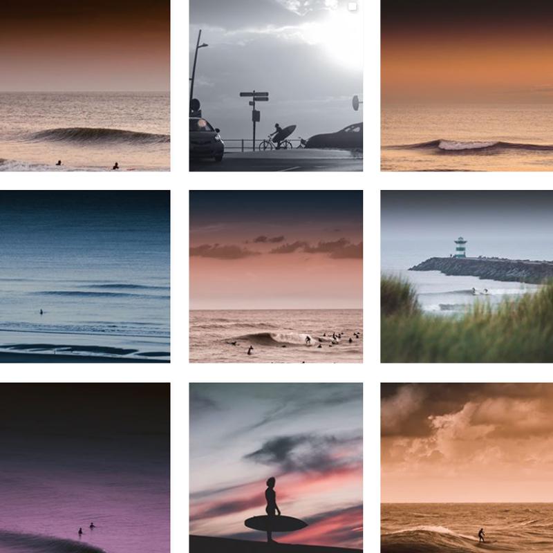 Surf Fotograaf Jop Hermans Scheveningen Collage