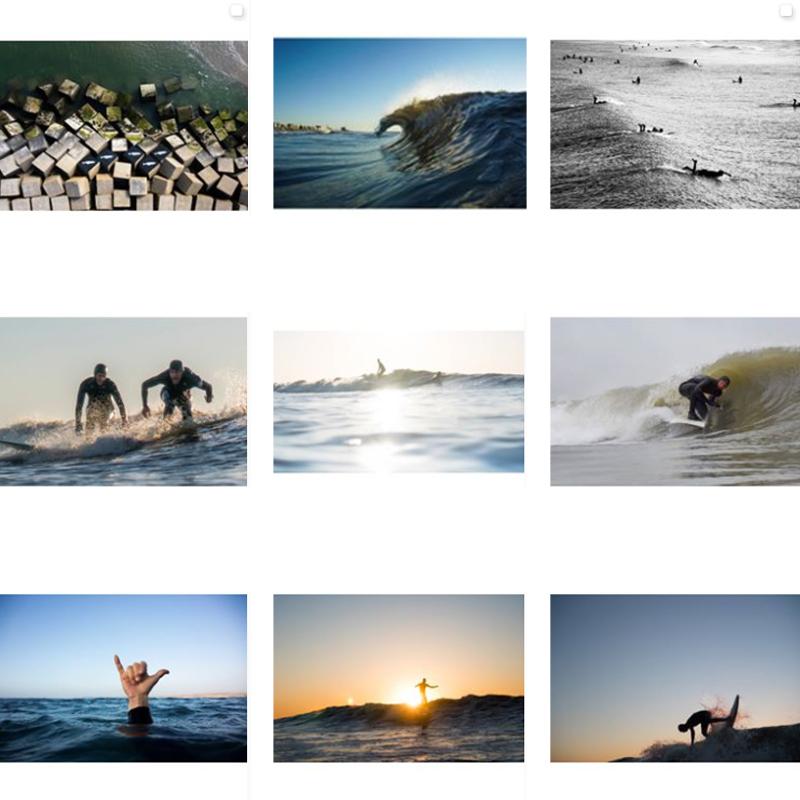 Surf Fotograaf Sebastiaan Heitkamp Surf.art Scheveningen Collage
