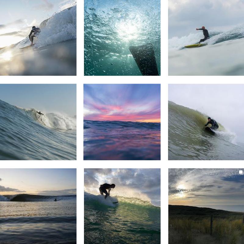 Wouter Hoogeveen Woogeveen surf fotograaf Noordwijk Collage