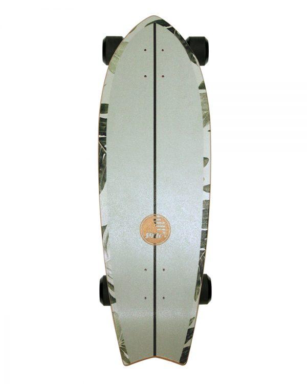 slide surfskate groen deck