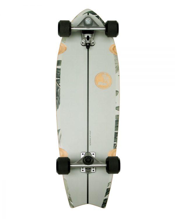 surf skateboard groen fish pavones