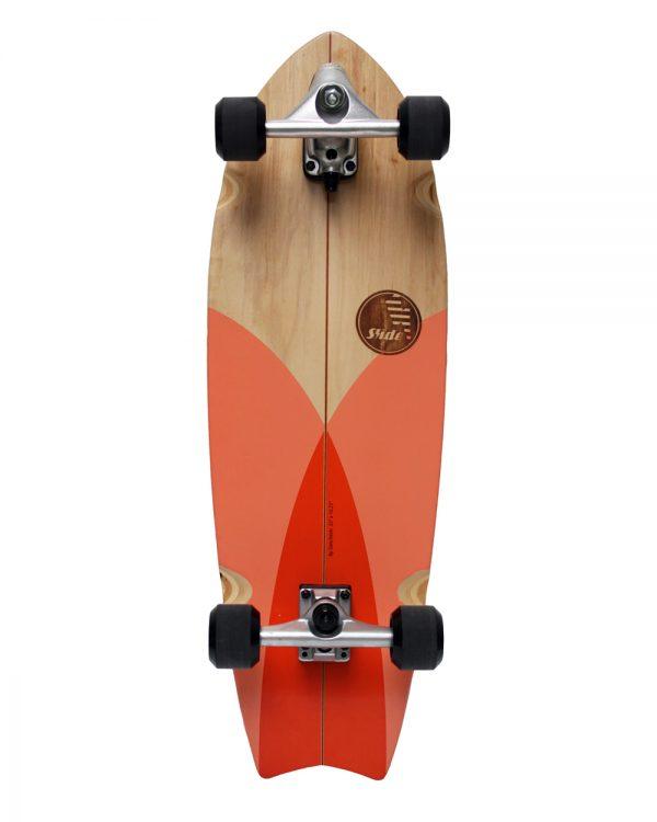 slide surfskate tuna hout
