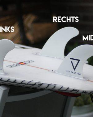 SEVENATSEA Dual Tab Basic Thruster Enkele Vin